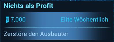 Warframe Nightwave (Der Glasmacher) Elite-Wöchentlich Nichts als Profit
